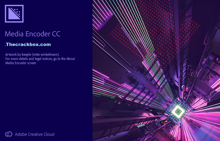 Adobe Media Encoder CC Crack